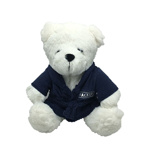 Bear Plush with Bathrobe (MOQ500-85)