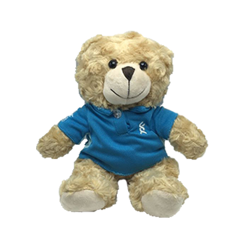 Bear Plush with Polo Tee (MOQ500-85)
