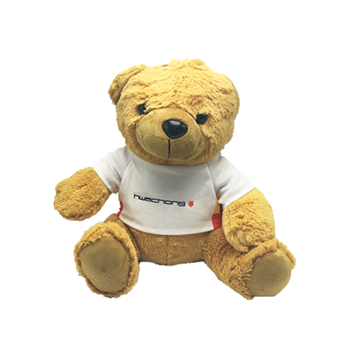 Bear Plush with Tshirt (MOQ500-85)