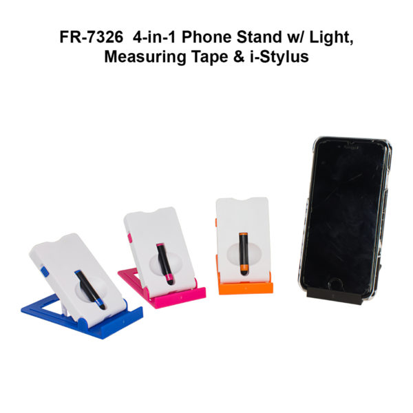 4 in 1 Phone Stand w Light - NFR7326-21